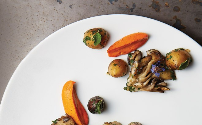 Fingerling potatoes get the gourmet treatment at FT33.