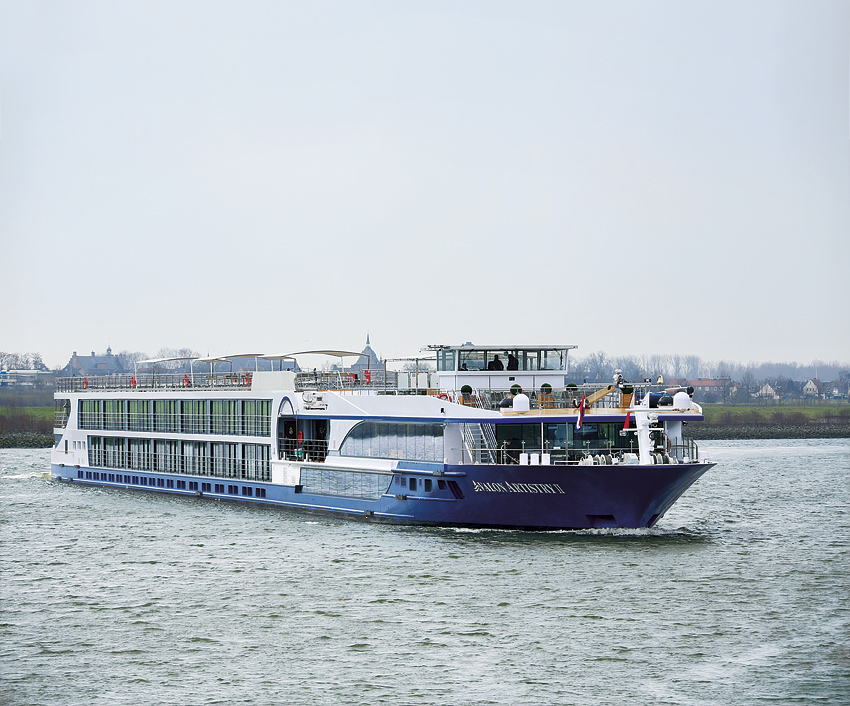 The Avalon Artistry II riverboat.
