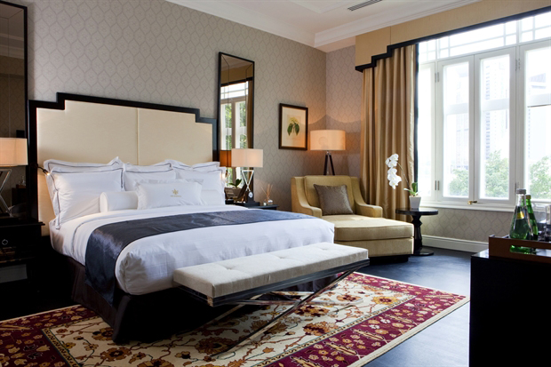The hotel has a brand new tower of rooms and 35 restored suites.