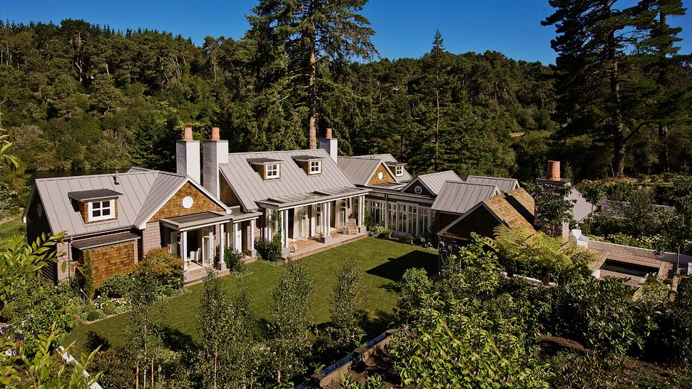 The Huka Lodge in New Zealand.