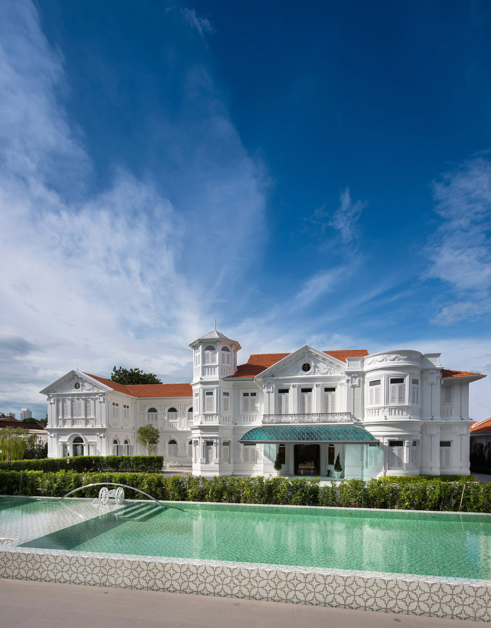 Macalister Mansion was named after a former British governor of Penang.