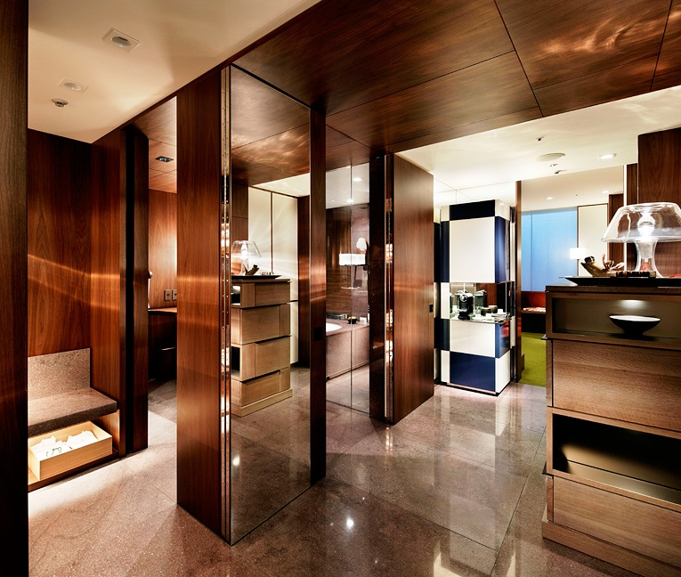 Guestrooms are co-designed by New York's Tony Chi.