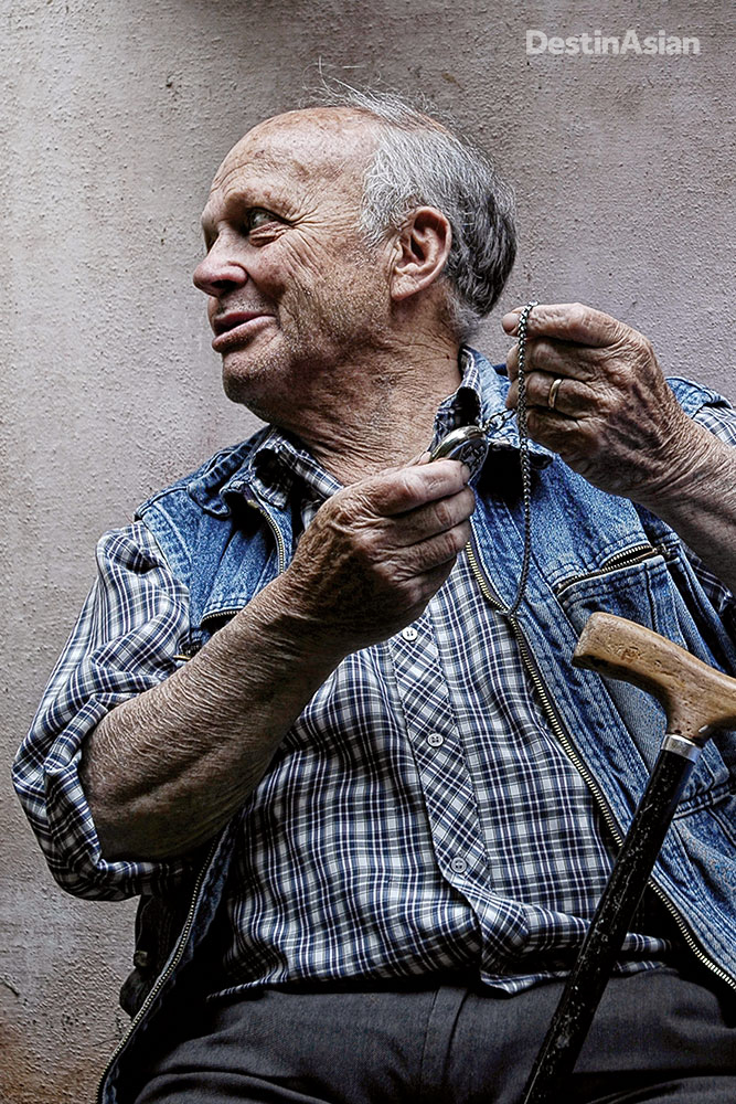 A local craftsman,