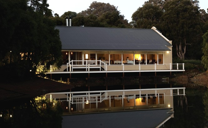 Cape Lodge's Lakeside Restaurant