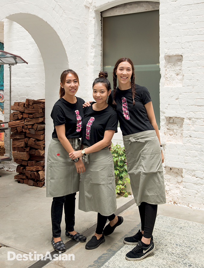Service with a smile at Long Chim.