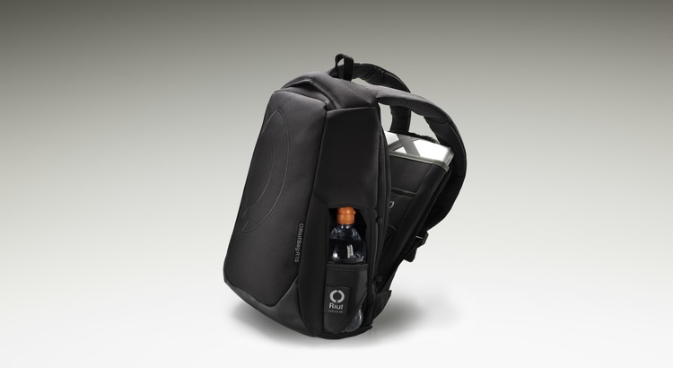 The RiutBag is made with foam-lined Cordura and Kevlar for its sturdiness.