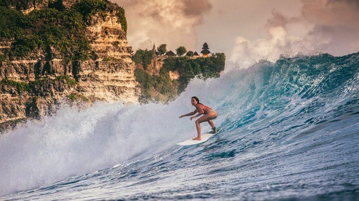 A Surfer's Haven at Bali's Uluwatu