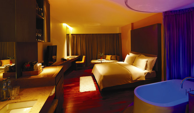 An Extra Radiance room.