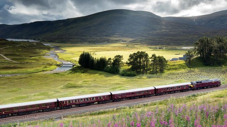 The Belmond Royal Scotsman will take you on a scenic journey across the heart of the Scottish Highlands.