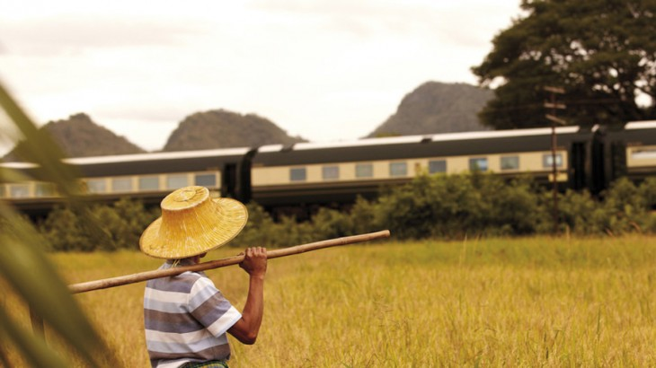 Take a tour of enchanting Southeast Asia onboard the Eastern and Oriental Express, which starts at Singapore and takes you through Malaysia's Kuala Lumpur, the Cameron Highlands, Penang, and ends with trip through Thailand's Huay Yan and, ultimately, Bangkok.
