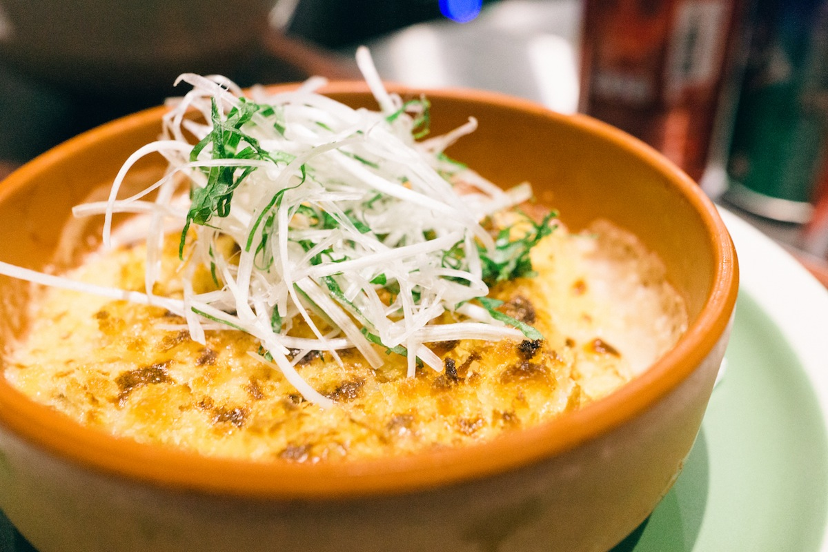 Little Bao's scrumptious baked Mac and Cheese.