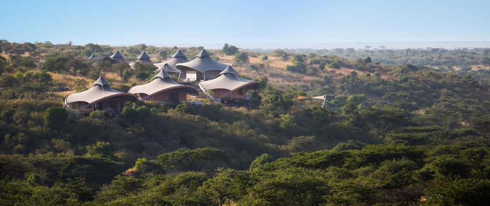12 tents on the edge of the Motorogi Conservancy make up the camp.