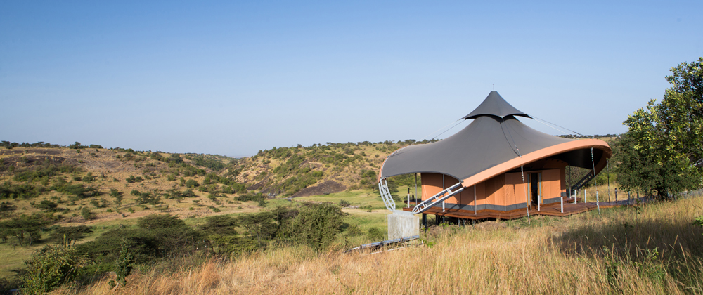 Mahali Mzuri accommodates just 20 people at a time.
