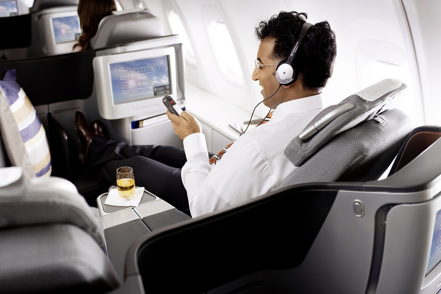 Lufthansa has upgraded is in-flight entertainment programs to offer passengers more options during their flight.