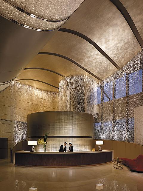 Jing An Shangri-La, West Shanghai - Lobby Reception