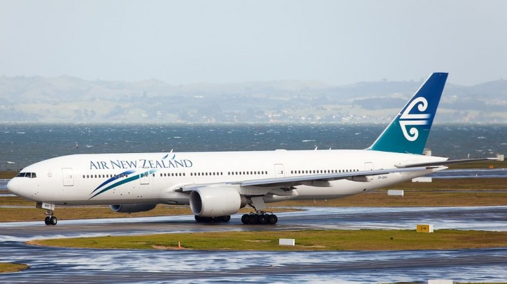 The Kiwi carrier's Boeing 777-200 aircraft.