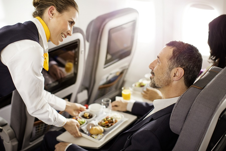 The airline will be offering new in-flight dining options following the recent upgrade.
