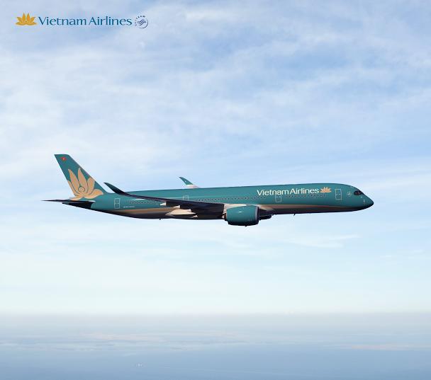 Vietnam Airline's new A350 XWB.