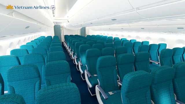 Most of the A350 aircraft will be comprised of economy-class seats.