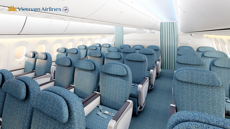 Premium Economy on the B787 will be much like what already exists on the airline's European routes.
