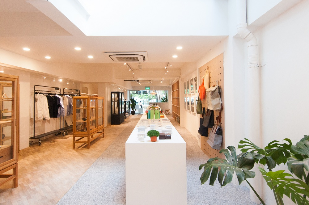 Inside Supermama's new Beach Road store.