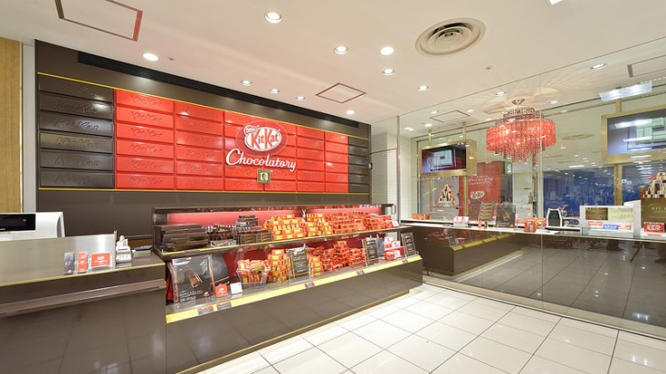 First KitKat Store in Tokyo