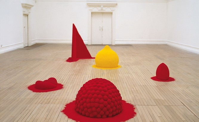 To Reflect an Intimate Part of the Red, 1981. Courtesy of Anish Kapoor.