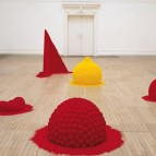 To Reflect an Intimate Part of the Red. Courtesy of Anish Kapoor.