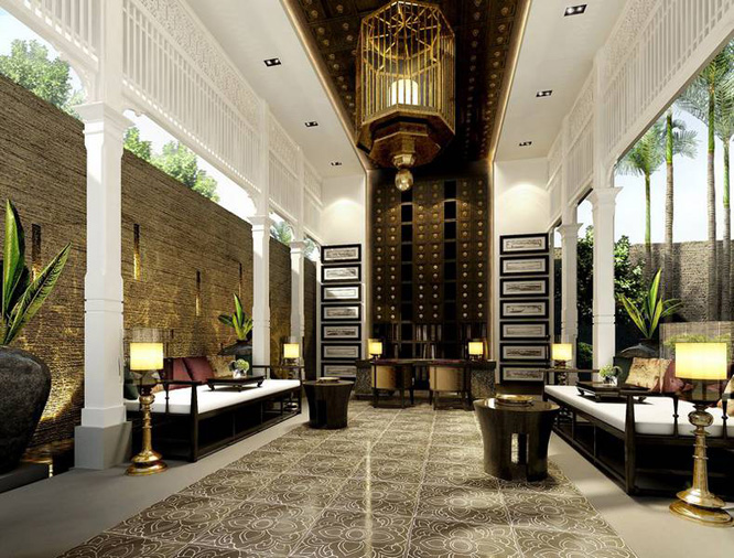 The hotel is located in the historic Wat Gate area of Chiang Mai. Room  rates start at US$400 per night during launch. 137 Pillars House