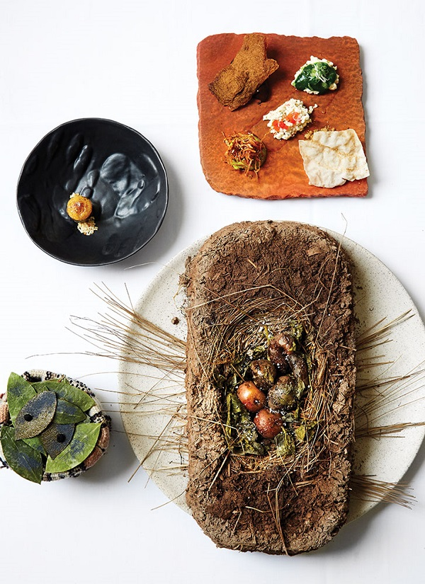 A recent tasting menu at Lima's Astrid y Gaston included a course of Andean potatoes baked in an adobe brick.