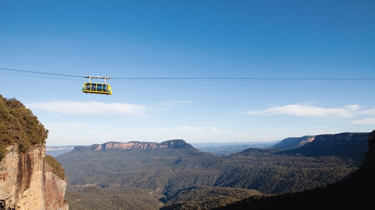 Attractions in the Blue Mountains