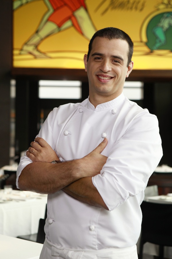 Federico Heinzmann is Park Hyatt Tokyo's new chef de cuisine at New York Grill & Bar.