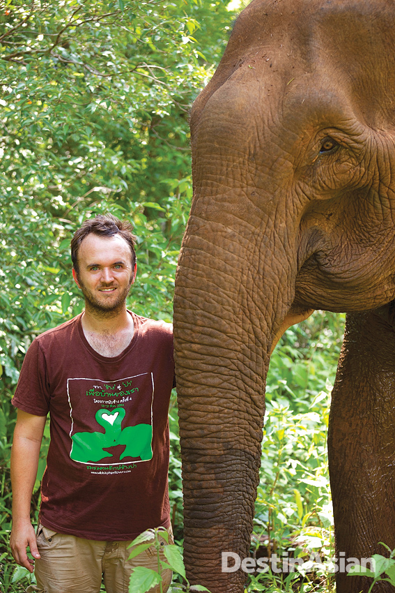 Jack Highwood at his Elephant Valley Project.