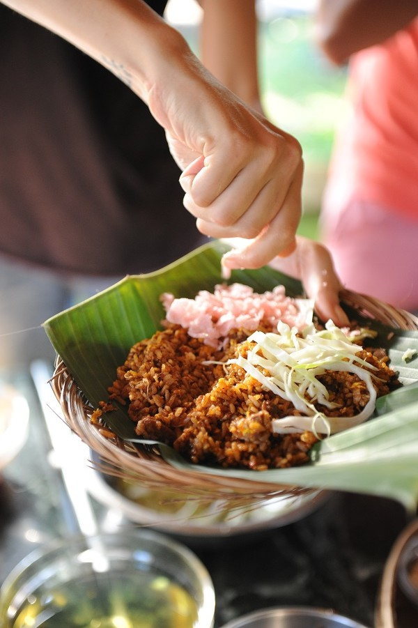 The festival is meant to showcase the vast and diverse culinary traditions of Indonesia.
