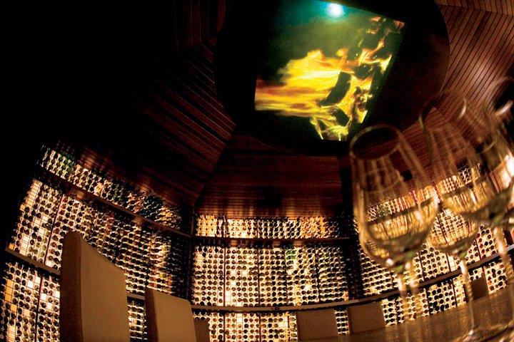 Vinum, Huvafen Fushi's wine cellar is eight meters below sea level.