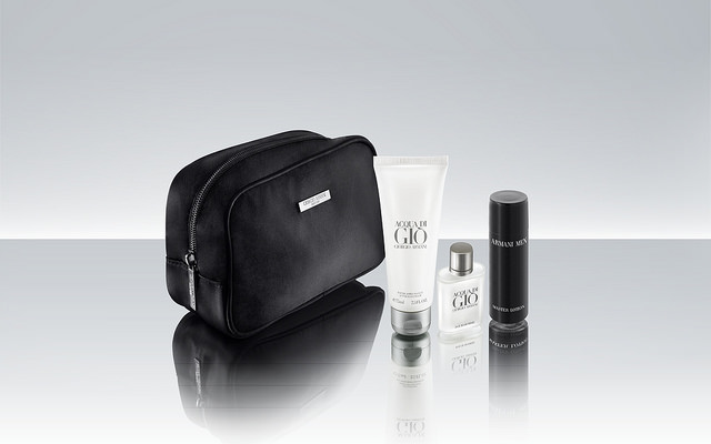 The amenity kits are designed and supplied by Harmony.