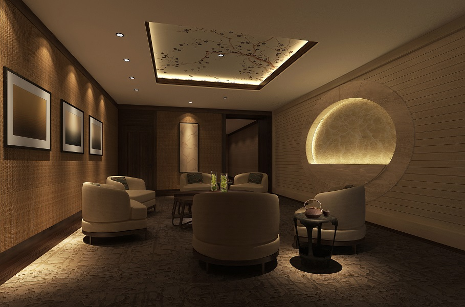 The Chuan Spa has been redesigned in an Asian-influenced style.