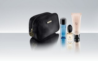 The female first-class amenity kits.