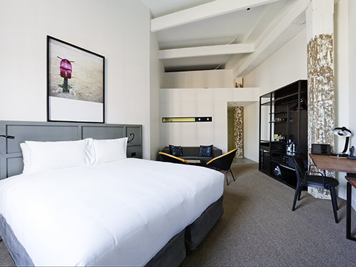 The 90-room boutique 1888 Hotel opened earlier this year.