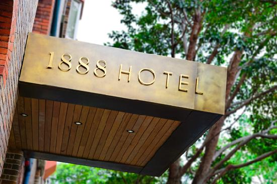 1888 Hotel is located in the lively Pyrmont neighborhood of Sydney.