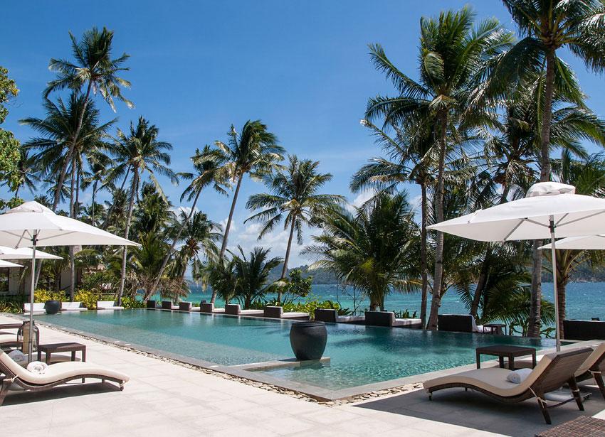 The main pool at Pangulasian Island.
