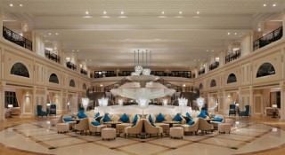 The Waldorf Astoria Ras Al Khaimah was designed with a classic Arabian palace in mind.