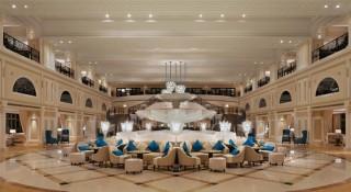 The Waldorf Astoria Ras Al Khaimah was designed with a classic Arabian palace in mind.