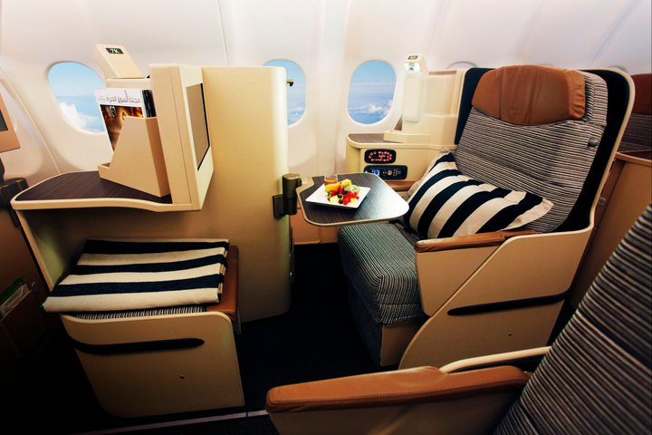 The service to Moscow will feature Pearl Business Class.