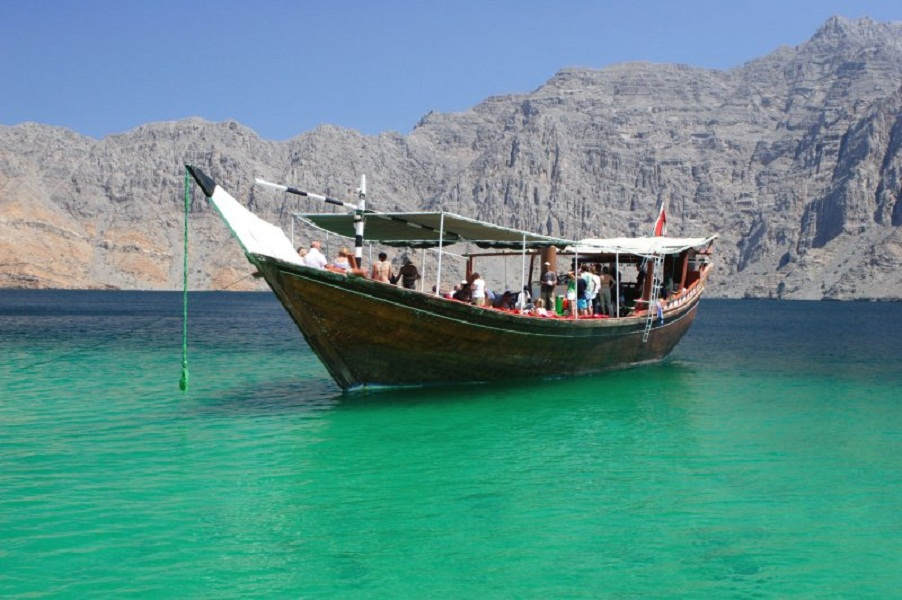 Boat tours from the soon-to-open Atana Musandam hotel offer scenic cruises through the waters around Musandam.