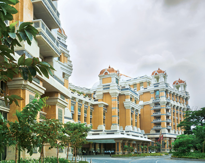 The ITC Grand Chola is the world's largest LEED Platinum certified hotel.