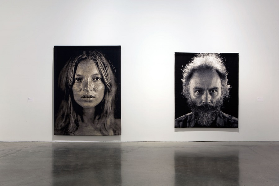 Chuck Close: Prints, Process and Collaboration, installation view, Museum of Contemporary Art, Sydney, 2014, courtesy the artist and Pace Gallery, New York © Museum of Contemporary Art photograph: Jess Maurer