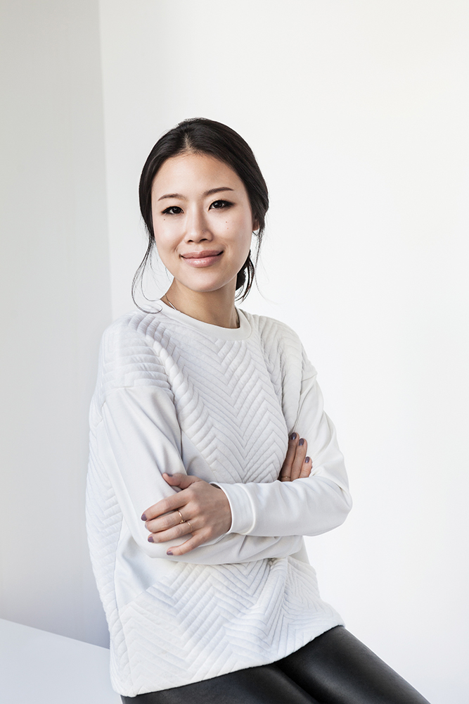 Founder of Peach & Lily, Alicia Yoon.