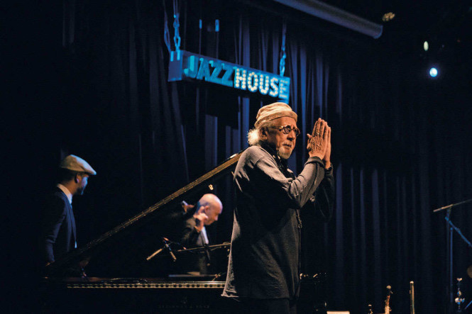 A concert at the Jazzhouse Club, a popular venue for the Copenhagen Jazz Festival. Photo courtesy of Kristoffer Juel Poulsen.
