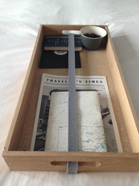 The hotel's Traveler's Kit.